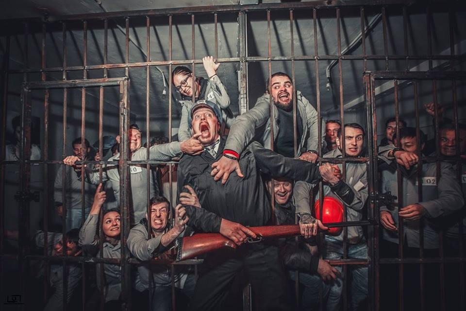 Побег из Шоушенка в Киеве, игры с погружением